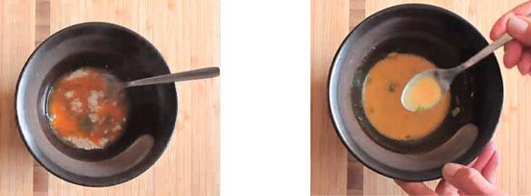 liaison et texture pour la harira