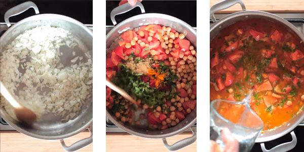 Mijoter la soupe