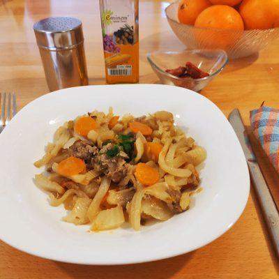 Plat fenouil et carottes