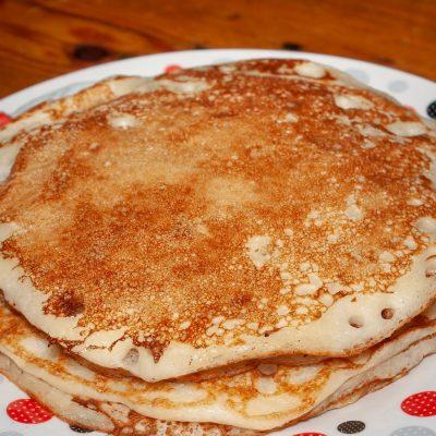 Petits pancakes d'origine anglaise