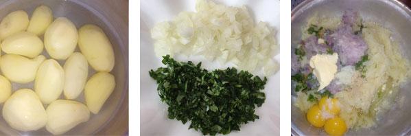 Préparer la mixture de pommes de terre