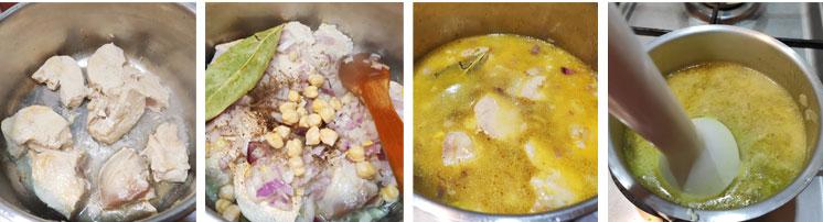 La sauce pour poulet et beignet de chou-fleur