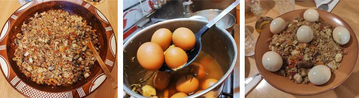 Le dressage du couscous vapeur
