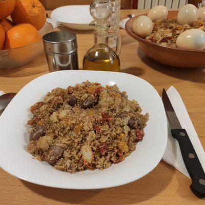 Couscous kabyle cuit à vapeur