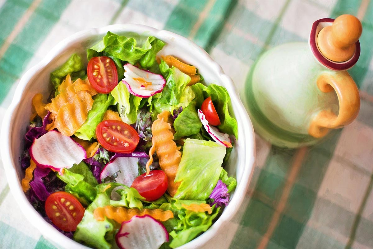 salades printanières