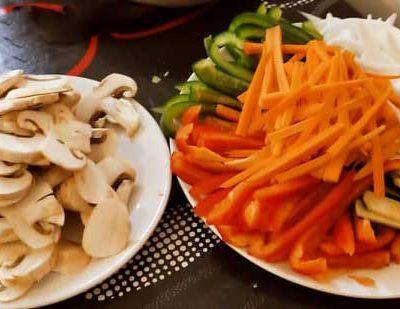 Couper les légumes en julienne