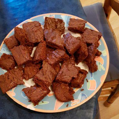 Brownies moelleux au chocolat noir