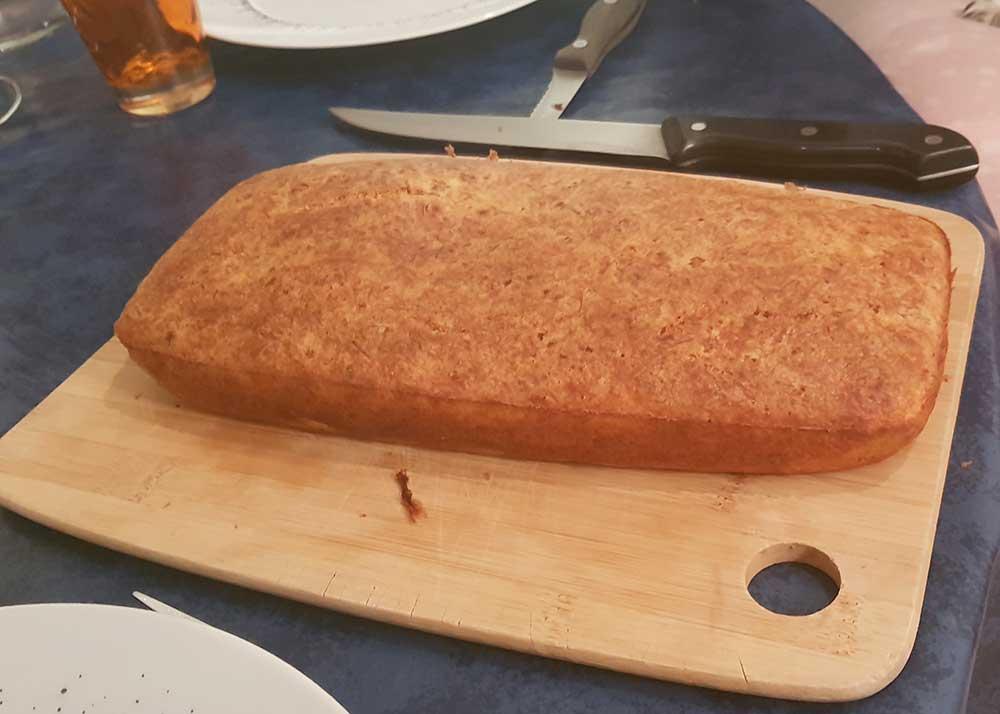 Cake au thon et au fromage