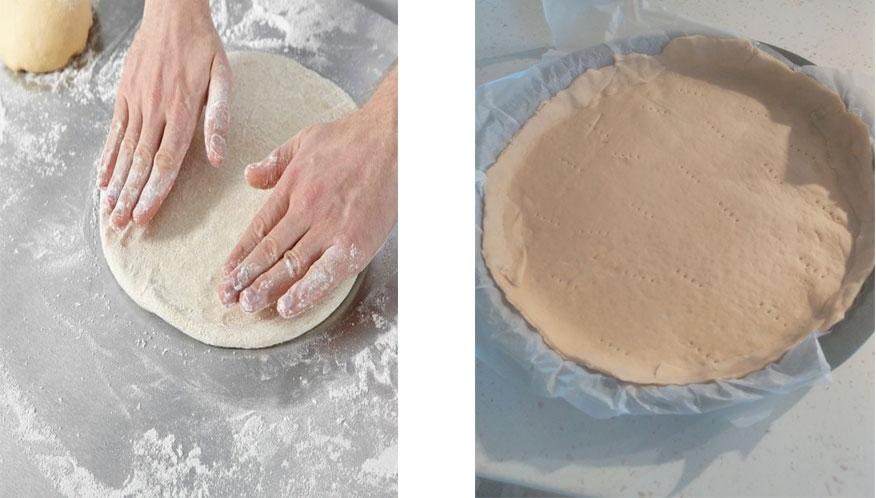 Étaler la pâte
