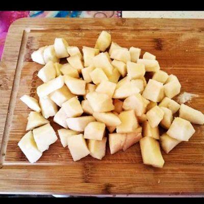 Coupez les poires