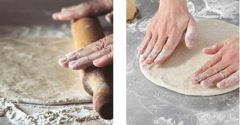 Étirer la pâte