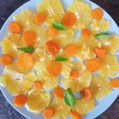 Salade de carottes et orange