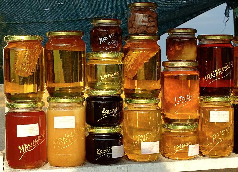 Sucres naturels sirop d'érable et miel