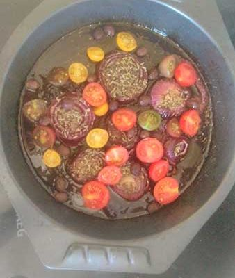 Mettre les olives