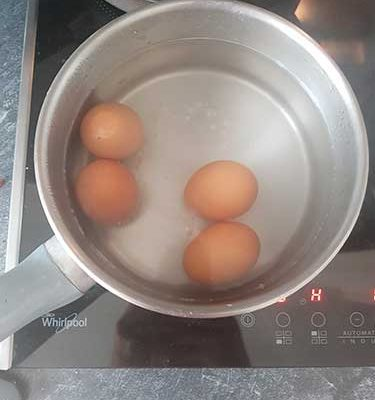 Cuire les œufs