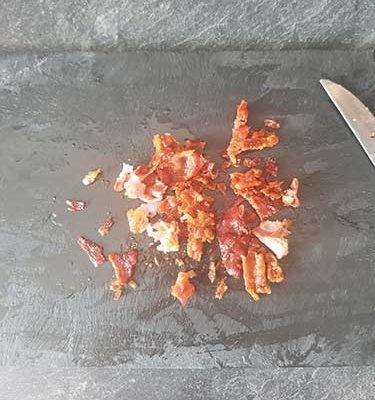 couper le bacon en tranches