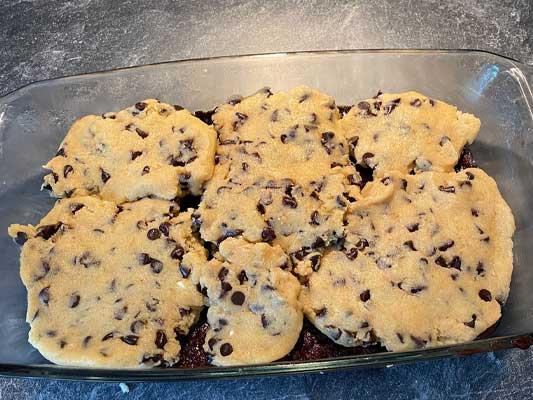 Fusionnez le cookie et le brownie