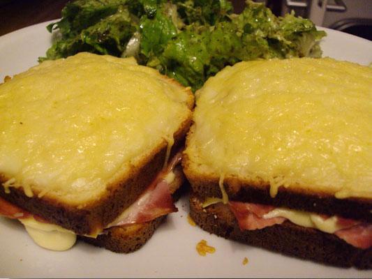 Croque monsieur fromage et jambon