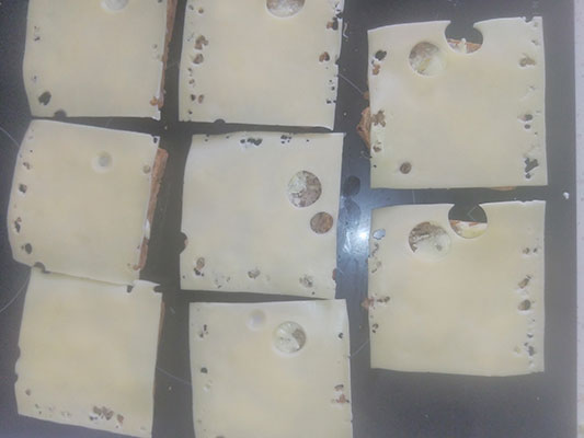 Fromage tranché
