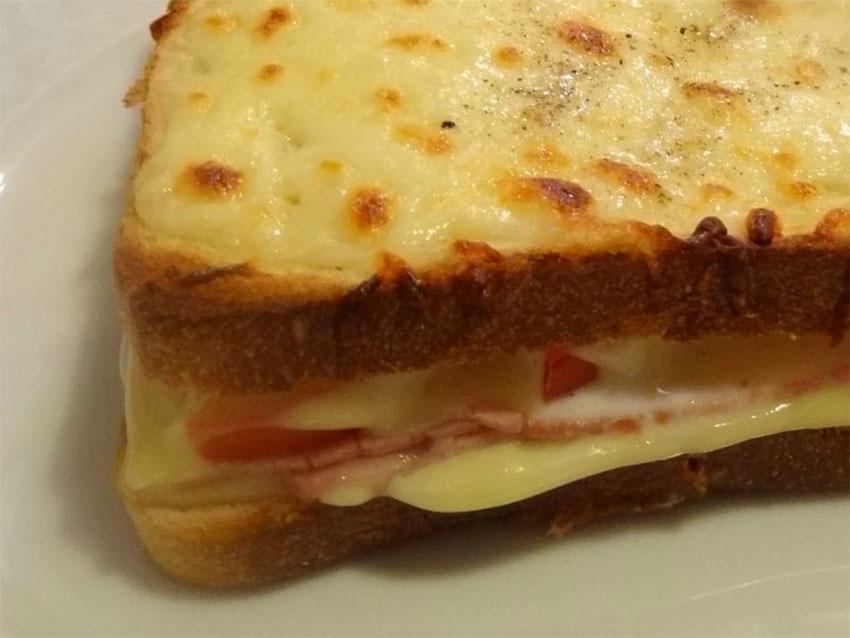 Croque-monsieur jambon-fromage au four à ma façon