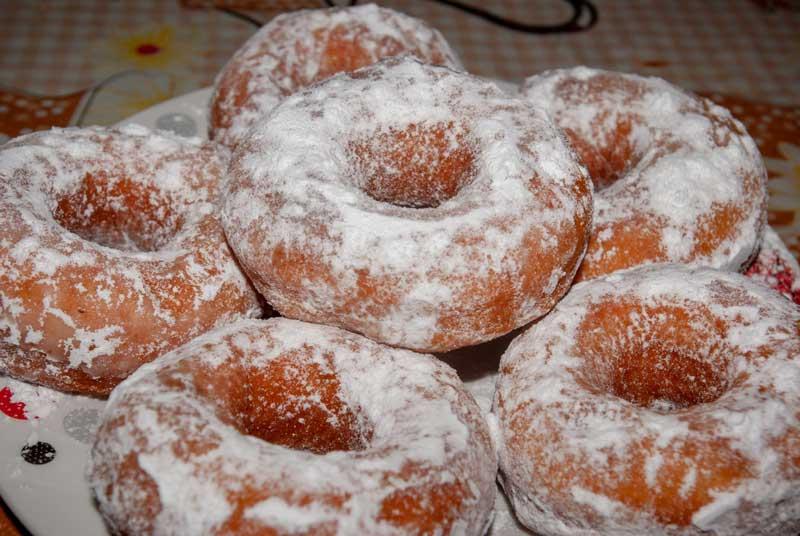 Donuts américains au sucre