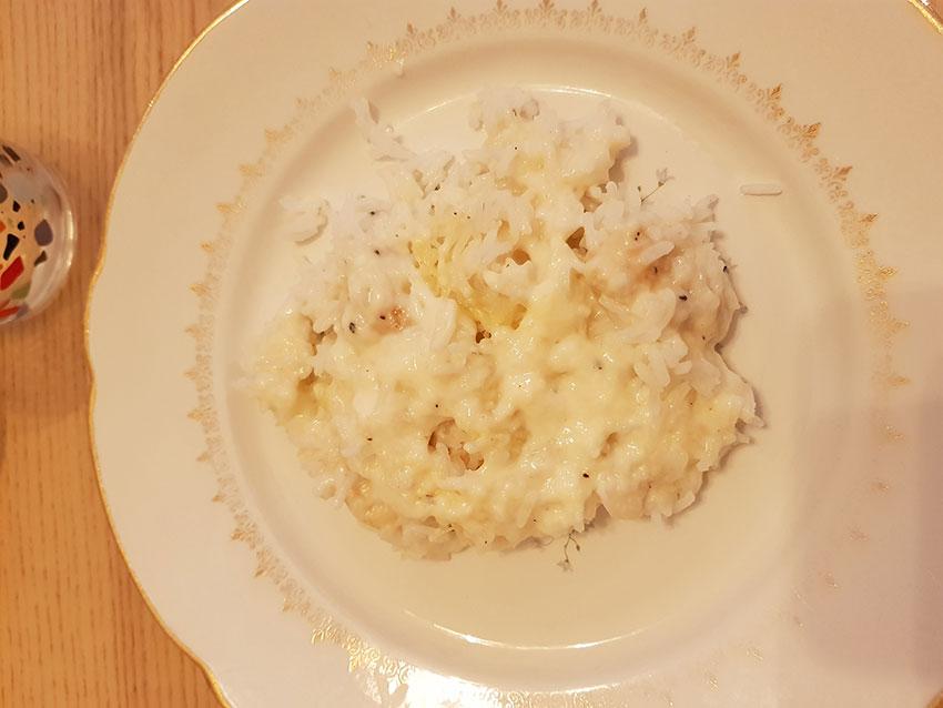 Gratin de riz au poulet