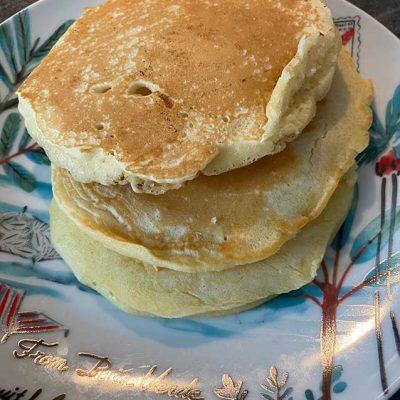 Pancakes au lait végétal