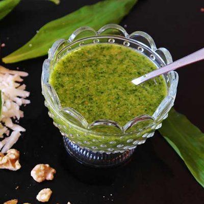 Pesto classique à l'huile d'olive