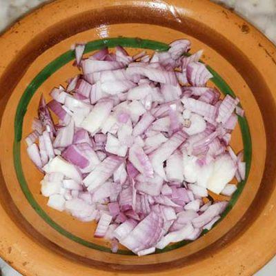Couper les oignons
